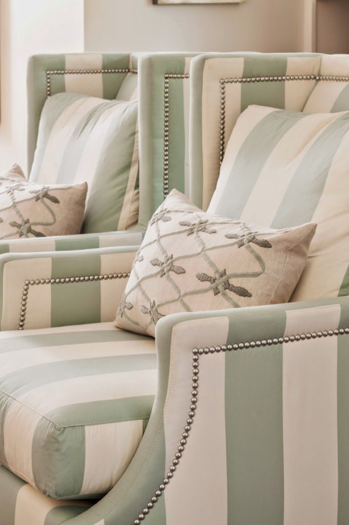House of Turquoise: Casabella Home Furnishings and Interiors featuring CR Laine Garrison Wing Chairs #madeintheUSA