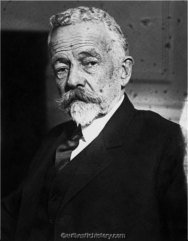 Henry Cabot Lodge, U.S. Senator. Opposed the U.S. joining the League of Nations.