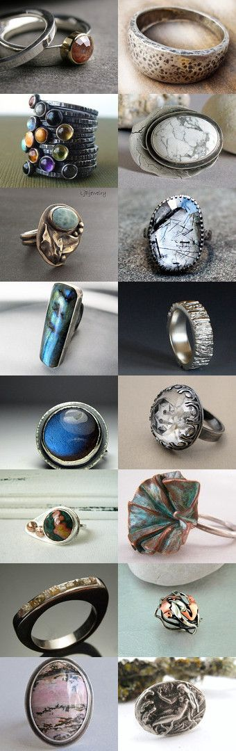EtsyMetal Team - Oh Yeah! We do Rings! by Su on Etsy--Pinned with TreasuryPin.com