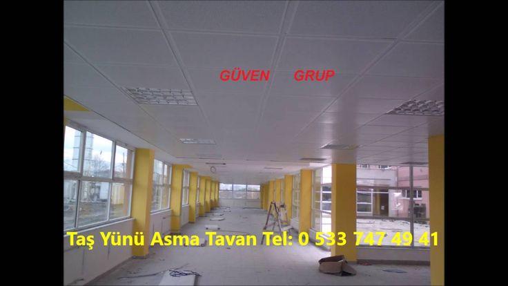 Taş Yünü Asma Tavan | Güven Grup Asma Tavan | Trabzon Gergi Tavan