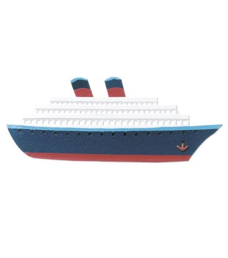 Purchase the Jolee's By You® Dimensional Embellishment, Cruise Ship at Michaels.com. This Jolee's By You® Dimensional Embellishment is perfect for use in a nautical themed party decoration.