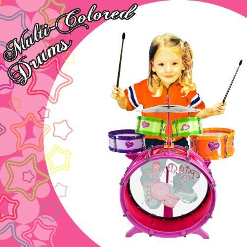Colorful Girls Drum Set For GIRLS KIDS DRUM SET KIT TOY CHILDREN MUSICAL INSTRUMENT 8Pc. Drum Set by Kids Pink Girls Drum Set. $48.95. Loads of fun, kids love it, SHIPS EXTREMELY FAST!. 8 PCS. Drum Set. Great Gift. Kids JAZZ DRUM SET. Kids Drum Set. Kids Drum Set, Kids JAZZ DRUM SET, 8 PCS. Drum Set, Great Gift, Loads of fun, kids love it, SHIPS EXTREMELY FAST! Pink Girls Drum