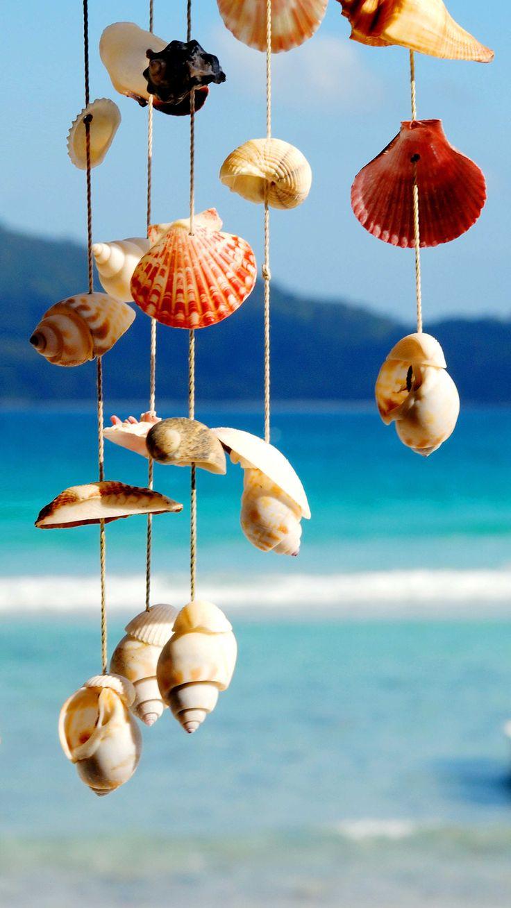Hd wallpaper app -  Tap And Get The Free App Art Creative Sea Sky Water Shells Blue