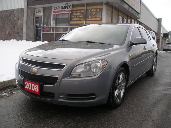 2008 Chevrolet Malibu LT 4 cyl. Sedan $4799