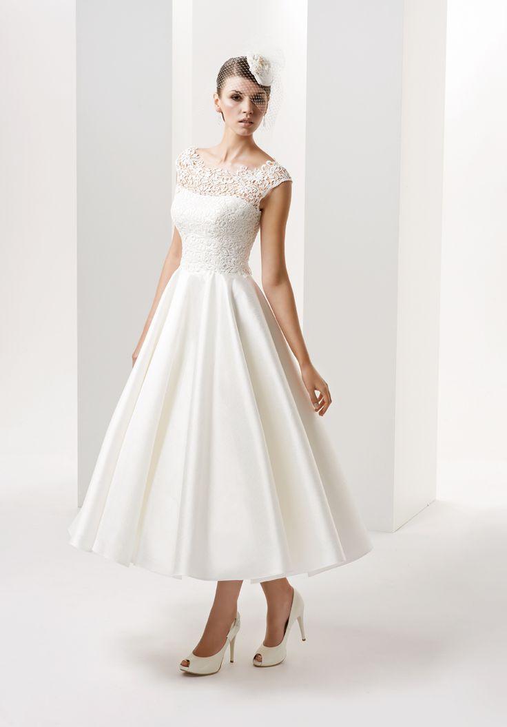 615 best Short Wedding Dresses 2 images on Pinterest | Homecoming ...