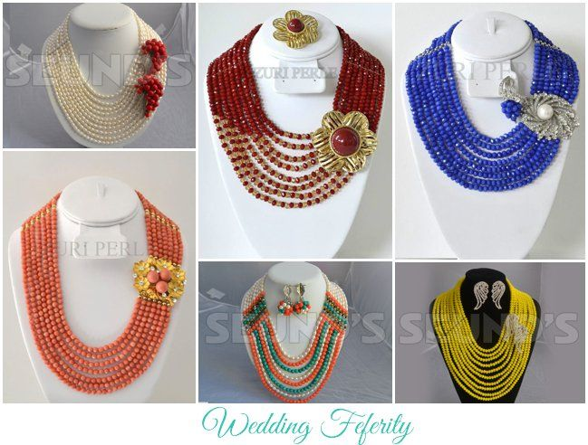Nigerian Beads – 28 Stunning Pieces for Weddings and Special Occasions