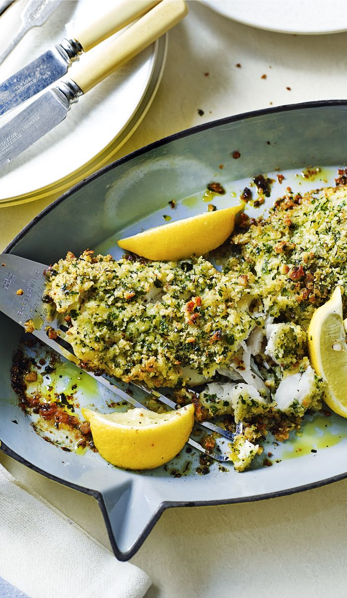Need a new way with fish for Good Friday? Smother it in lemon and herby breadcrumbs.
