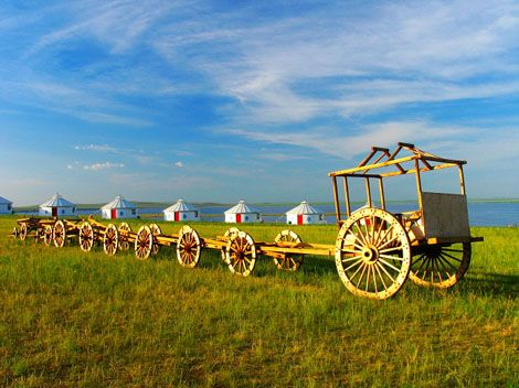 The Mongolian-style Lele Cart - China culture