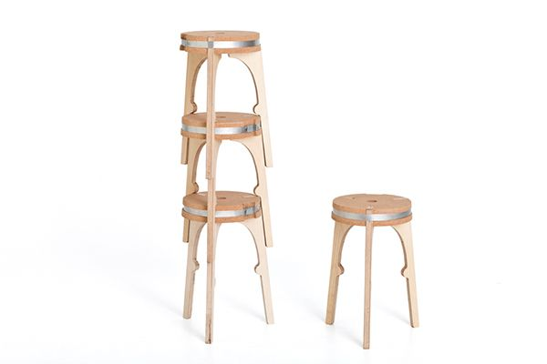 how to make a milking stool