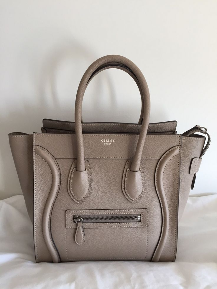 Celine Dune Micro Luggage Tote. Selling it for a great price because it was used just a few times