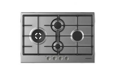 Plaque gaz Rosieres Table de cuisson gaz 75cm 4 feux inox - rtg74wfbin