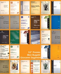 The catalogue of the 52nd edition of Bice Bugatti Prize