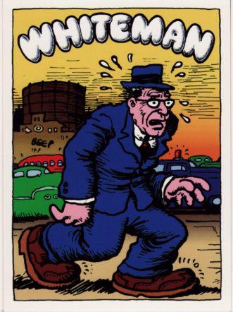 Whiteman by Robert Crumb (underground comics)