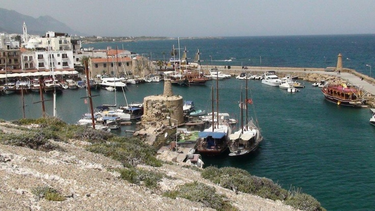 Kyrenia, town on the northern coast of Cyprus, noted for its historic harbour and castle... go there with gtravel.pl