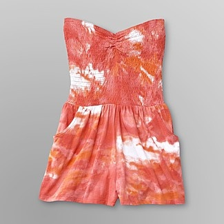 Dream Out Loud by Selena Gomez Junior's Romper - Tie-Dye - Clothing - Juniors - Jumpsuits & Rompers