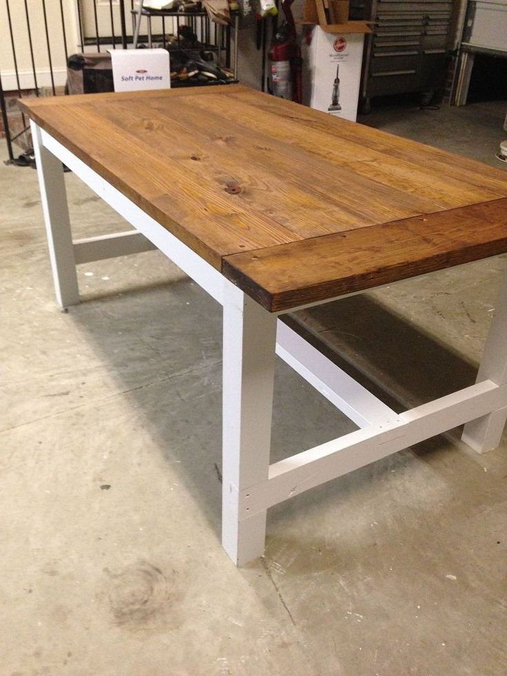 DIY Farm Table on the Cheap!   Farming, Farm house and