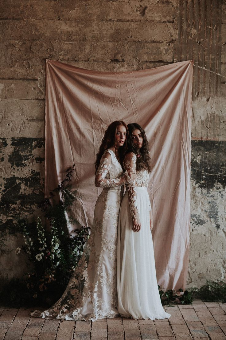 The Debussy and the Dusk gown / Nora Sarman Bridal / photo Pinewood Weddings