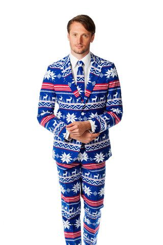 Preorder - The Ugly Christmas Sweater Suit - The Rudolph Suave - Delivery in November 2015