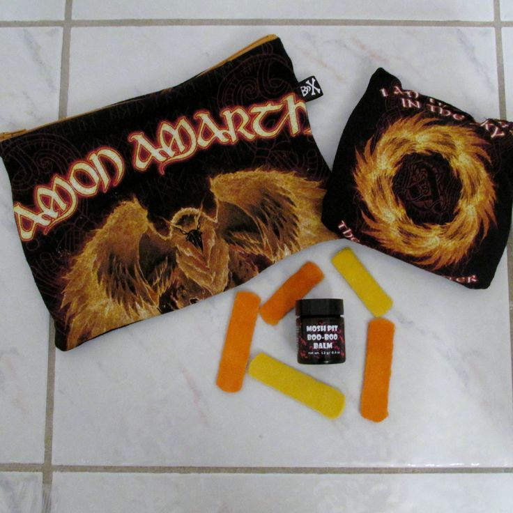 Amon Amarth Mosh Pit Boo-Boo Kit DIY Folk Metal 2 by DarkStormDesign on Etsy