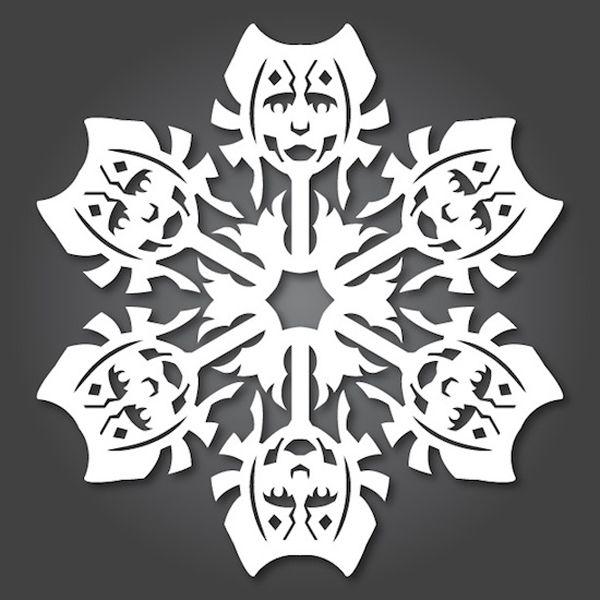 Papercraft Star Wars Snowflakes 6