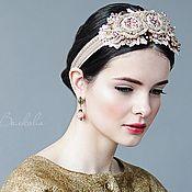 """Купить Диадема """"Невеста мая"""" - диадема, свадебное украшение, украшение в прическу, украшение в волосы"""