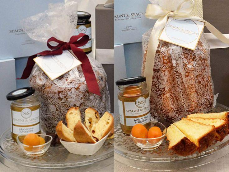#Panettone or #Pandoro what do you prefer this #Christmas?  Italian traditional Cake #sweet #italianfood SpagniTheGift.com