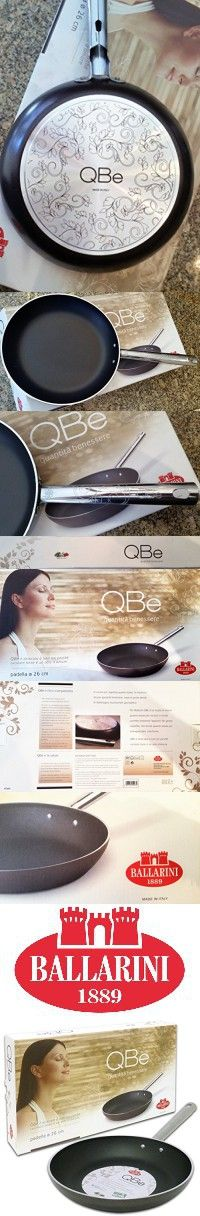 "10.5"" QBe Non-Stick Saute Pan, Brown, Ballarini S.p.A., Made in Italy"