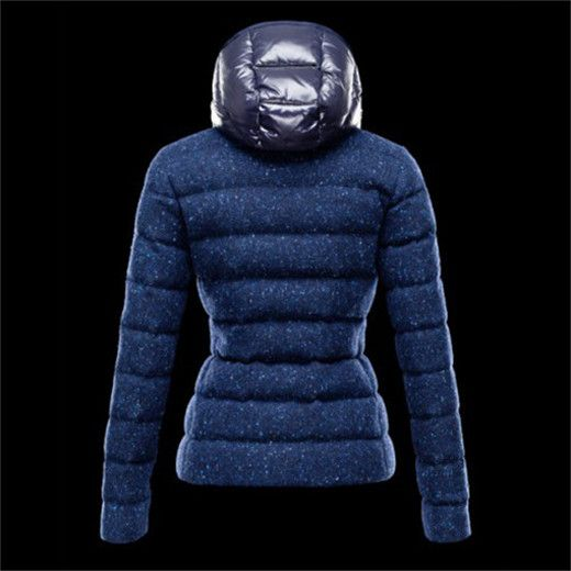 blouson femme, Doudoune Femmes ASTERE Bleu pas cher, manteau doudoune femme