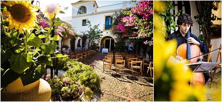 Sunflowers in Seville Wedding by Reviva