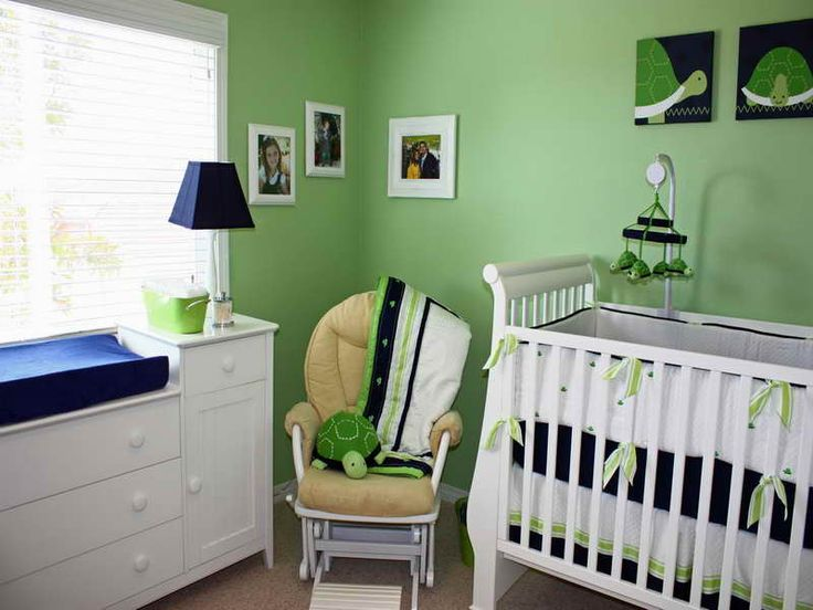 580 best Green Baby rooms images on Pinterest