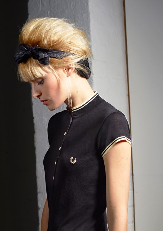 Fred Perry x Amy Winehouse AW + I like this brand-!