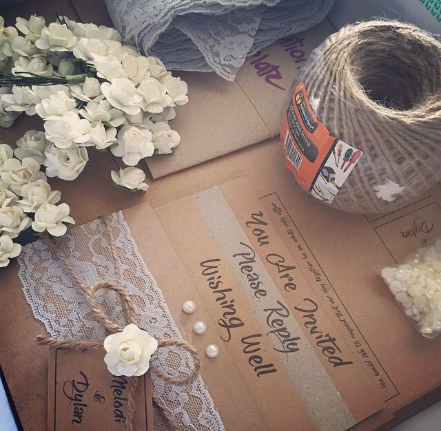 DIY your wedding invitations
