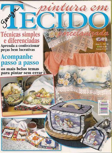 Pintura tecido30 - Rosana Carvalho - Picasa Web Albums...FREE MAGAZINE!!