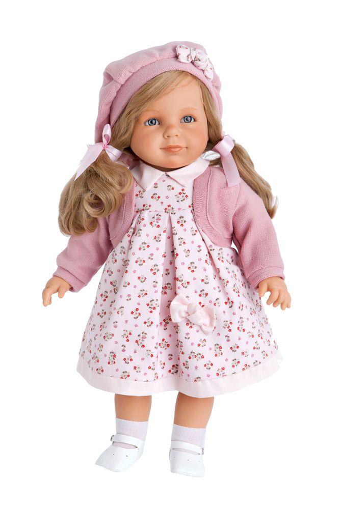Кукла Анита в розовом (Antonio Juans Munecas, 1887P)