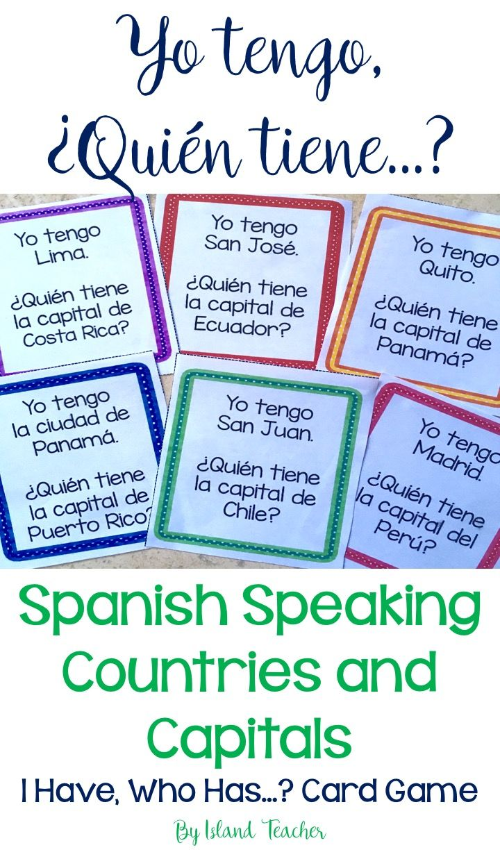 Spanish Speaking Countries Maps - 123TeachMe.com