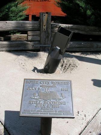 Boise City Bomb Memorial | TravelOK.com - Oklahoma's Official Travel & Tourism Site