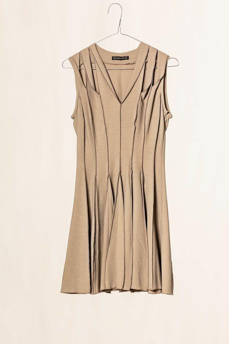 Vestito cocktail beige. #pleinsud #fashion #shoponline