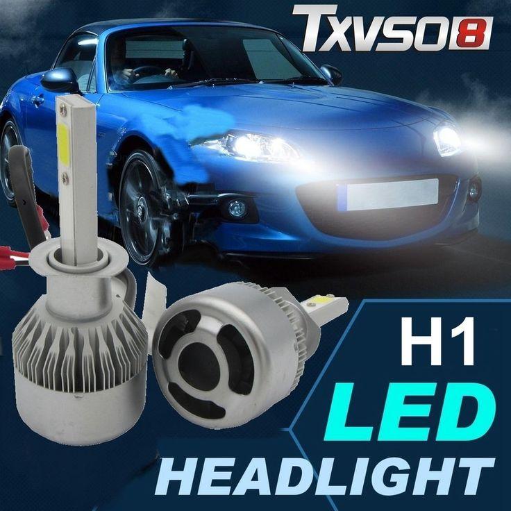Exceptional 2x H1 COB Car CREE LED 110W 20000LM Headlight Kit 6000K Lamps Globes Bulbs  White #
