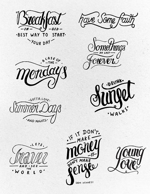 724 Best Images About Typography Hand Lettering