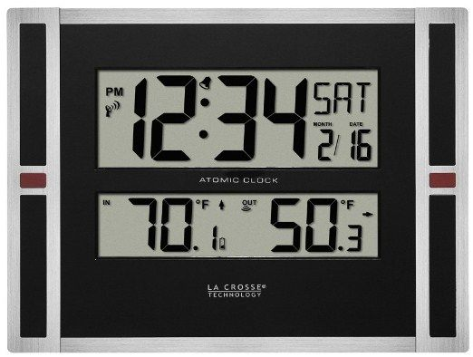 23 Best Images About Large Digital Wall Clock On Pinterest