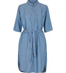 Second Female Sabra shirt dress blue denim