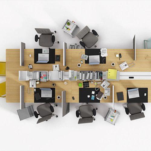 Joyn er modulopbygget skriveborde, som kan tilpasses til skiftende krav og teknologier. Hver arbejdsstation får fleksibilitet.#kontormøbler #kontor #kontorindretning #skriveborde #computerborde