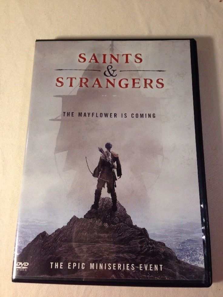 SAINTS AND STRANGERS The Mayflower is coming Epic Mini Series DVD