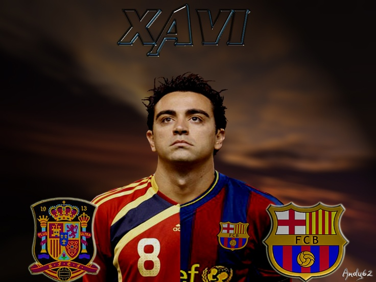 The Catalan midfielder Xavi Hernández is one of most important players of FC Barcelona and the Spanish National team.