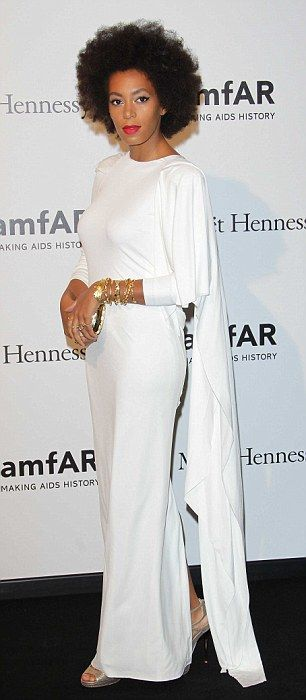 Other Rubin designs: The fashion designer has also designed outfits for Solange Knowles an...