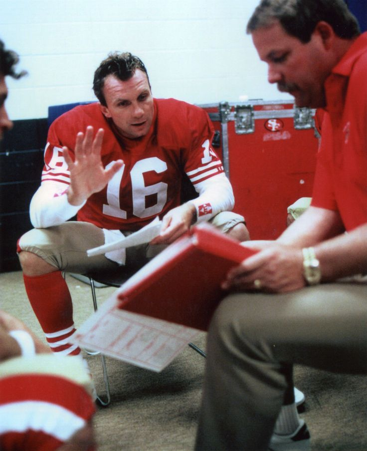 Mike Holmgren Joe Montana San Francisco 49ers 8x10 Sports Photo 30 | eBay