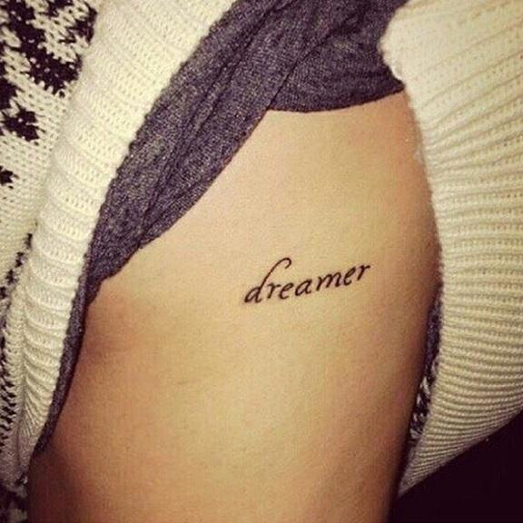 best 25 dreamer tattoo ideas on pinterest creative inspiration creative art and pretty words. Black Bedroom Furniture Sets. Home Design Ideas