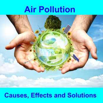 This engaging, interactive, thirty-one slide lesson leads students through an examination of air pollution beginning with its causes and effects. The lesson concludes with examples of air pollution solutions, leading the students into an optional alternative energy internet research project (links to selected internet sites, teacher