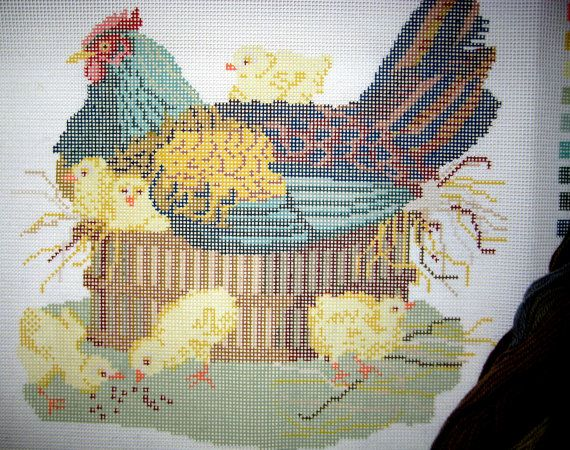 Elizabeth Bradley Beasts of the Field Series by MyStitchingGarden, https://www.etsy.com/ca/listing/200127807/tramme-needlepoint-flowers0149-design?ref=shop_home_active_4