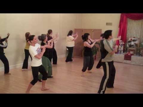 Rhythms of India - beginner bhangra practice - SHC 2010-05-03